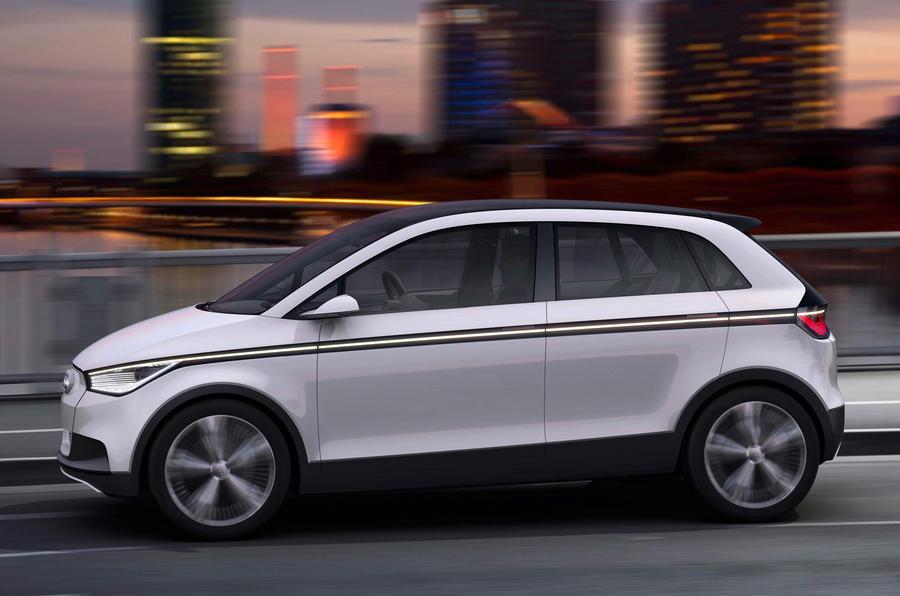 Frankfurt show - Electric Audi A2