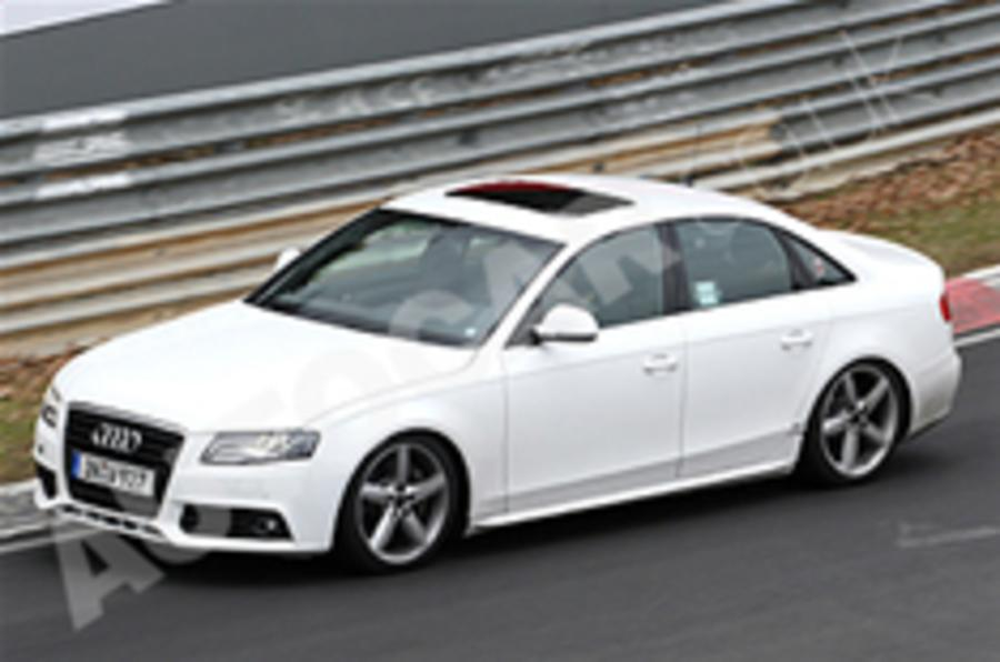 New Audi S4 caught testing