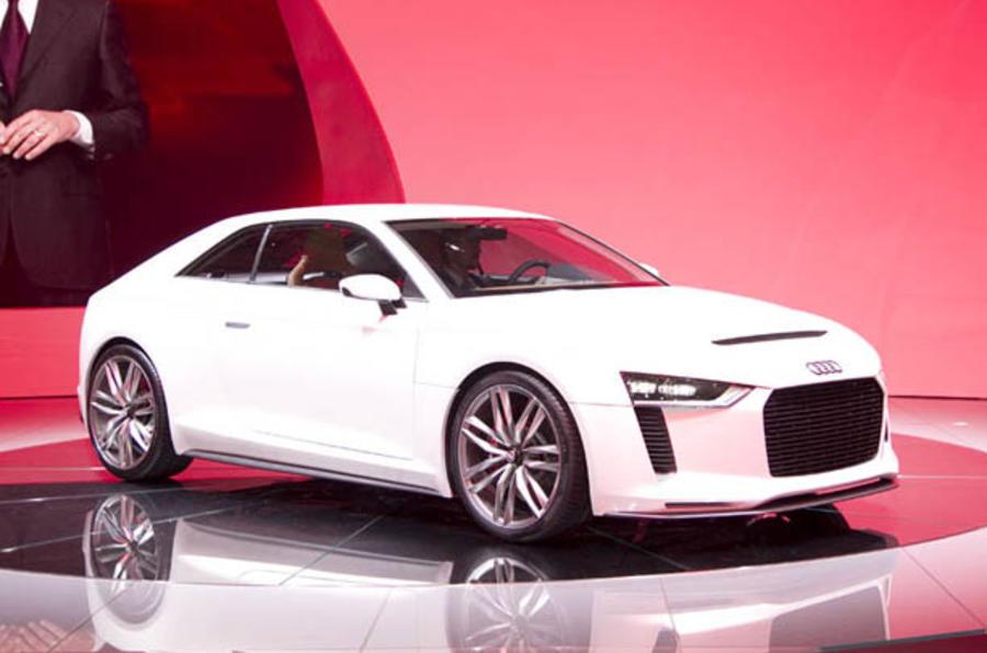 Paris motor show: Audi Quattro