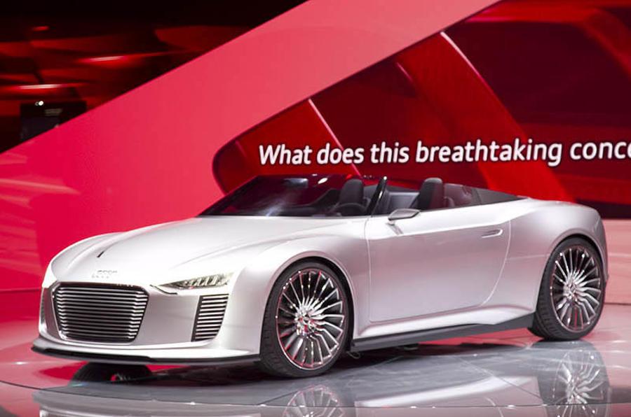 Paris motor show: Audi e-tron Spyder