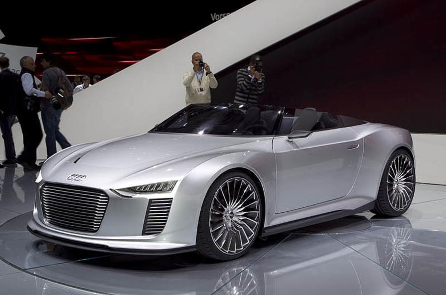 Audi's 'unusual sounding' EVs