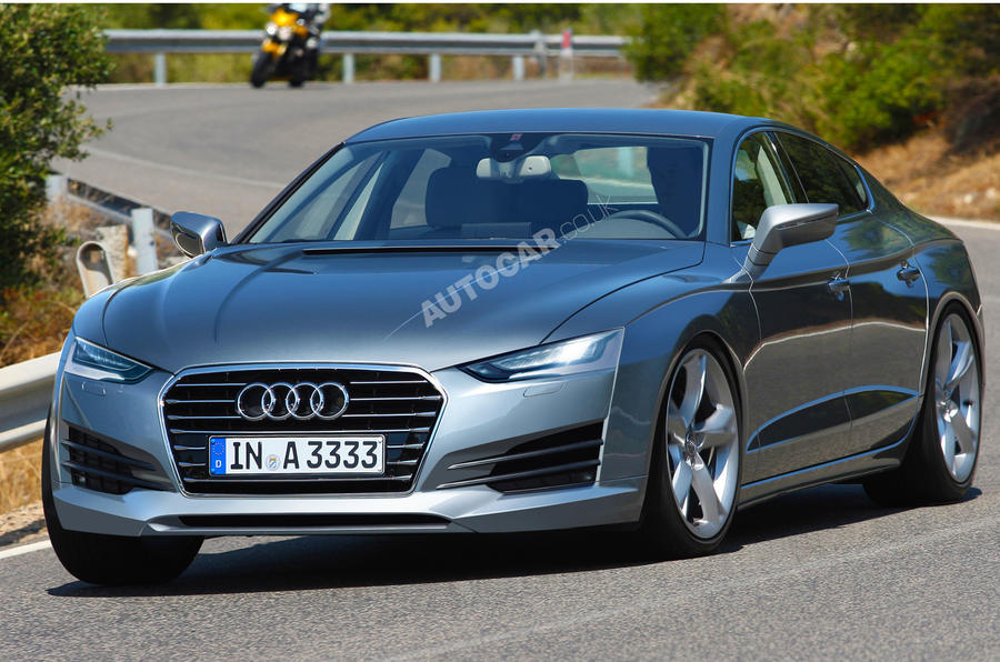 New Audi A9 guns for Panamera