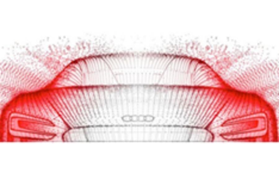 Frankfurt motor show: Electric Audi R8
