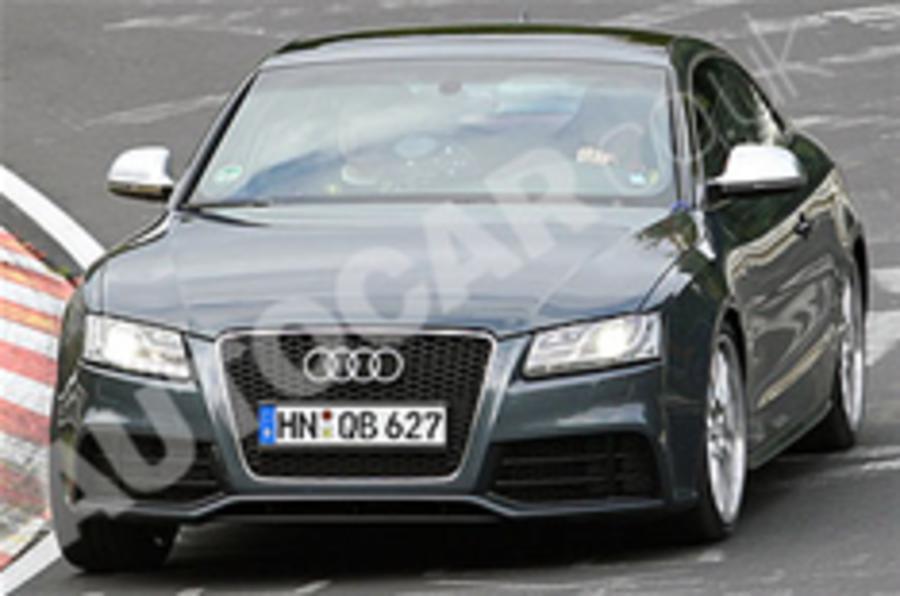 Spied: next Audi S5