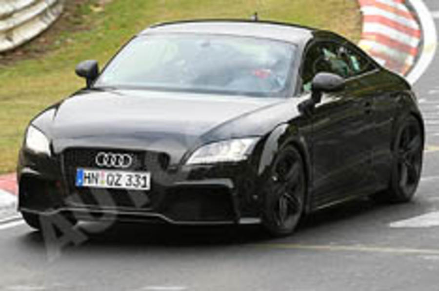 Update: Audi TT RS more details