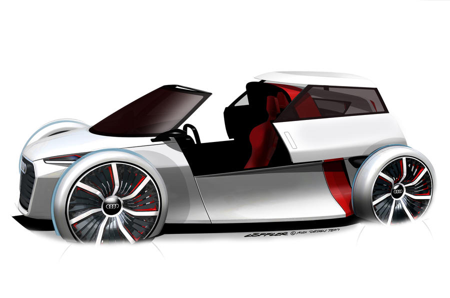 Audi's radical city car concept