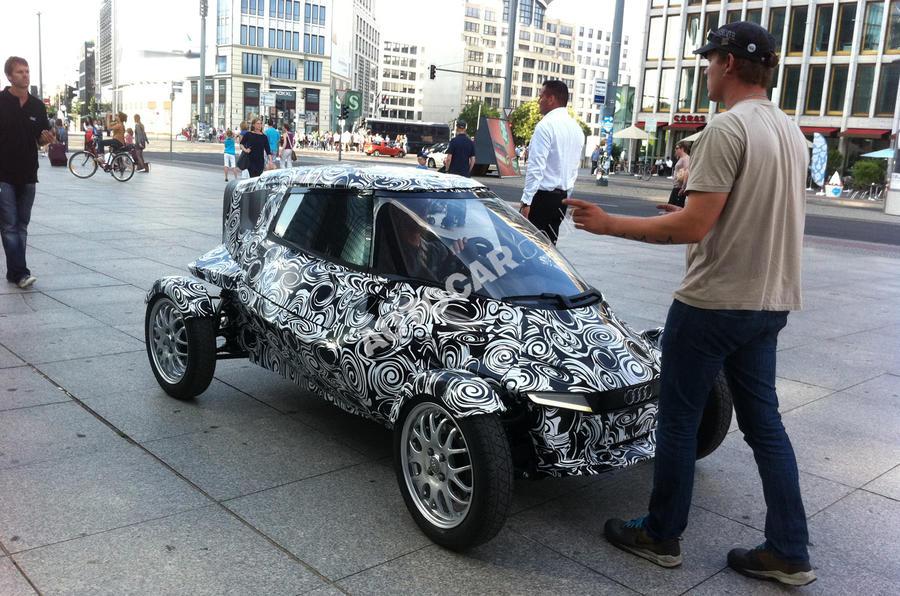 Audi's radical city car concept