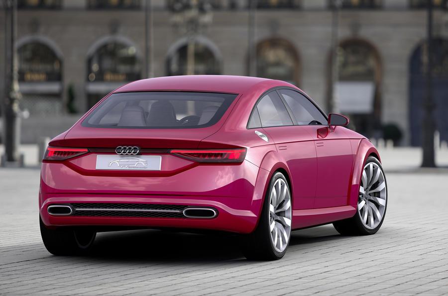 Audi reveals stretched TT Sportback concept