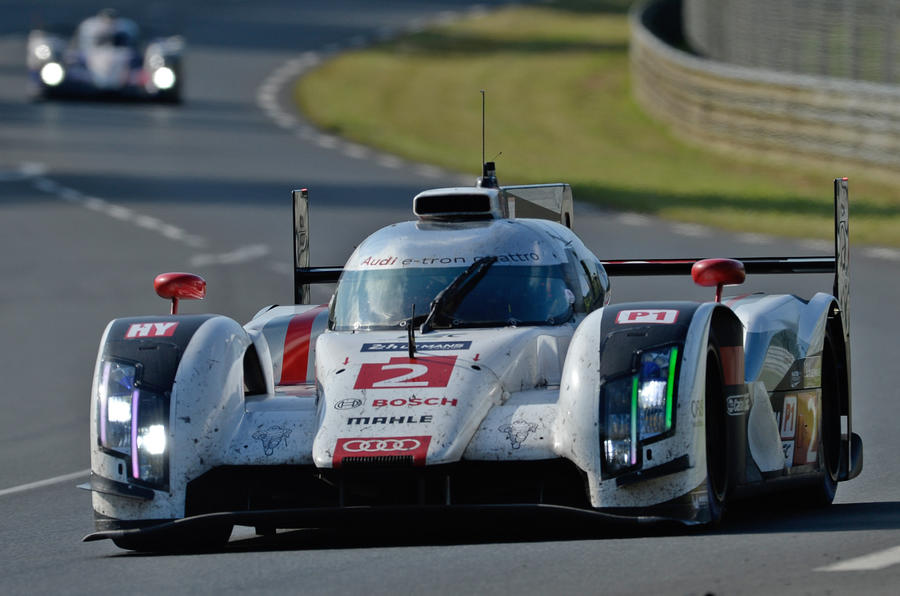 Audi triumphs over Porsche and Toyota at the 2014 Le Mans 24 Hours