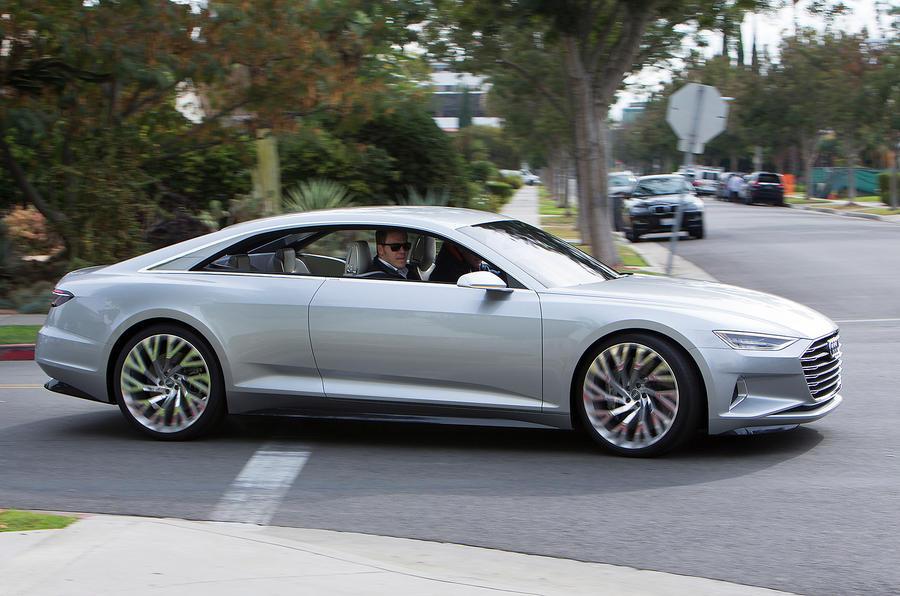 Audi S Prologue Concept Car Driven Autocar