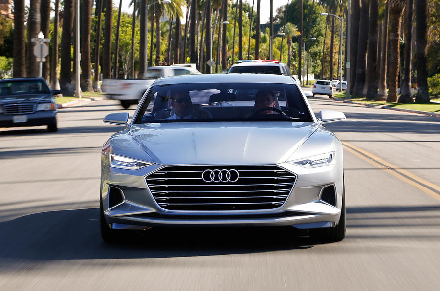 Audi's Prologue concept car driven