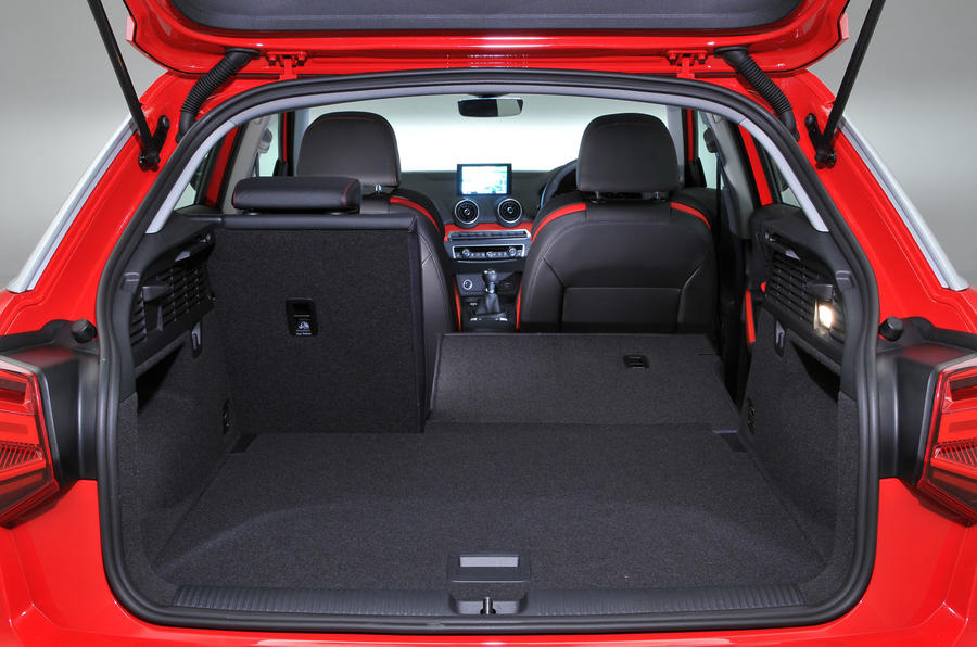 Audi Q2 boot space