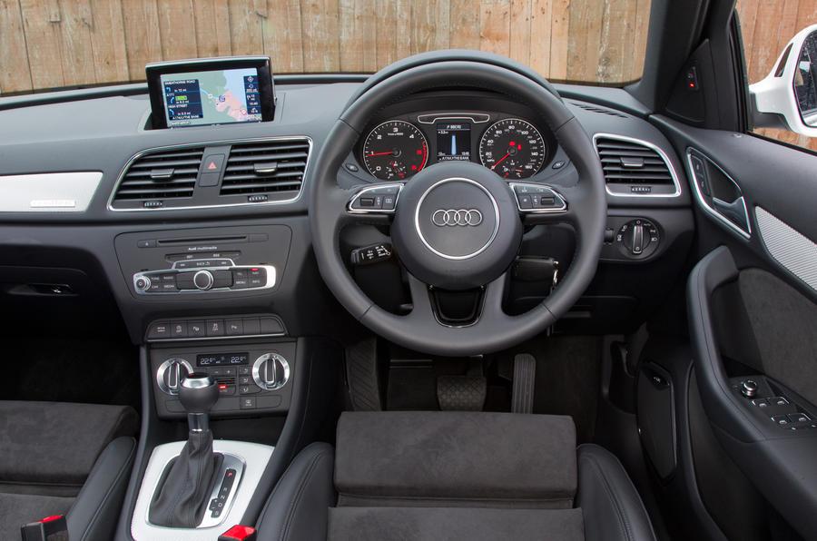 Audi Q3's interior