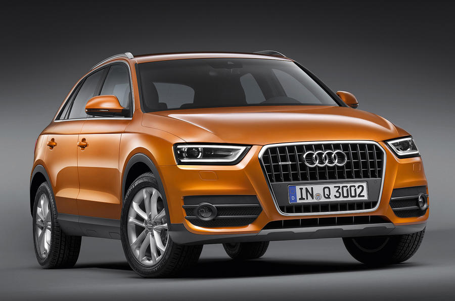 Audi Q3 from £24,560