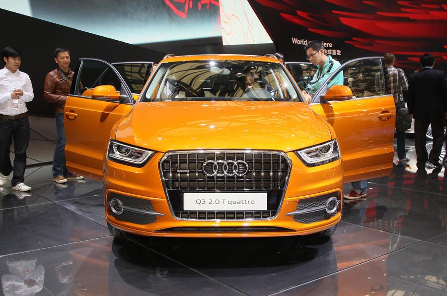 Shanghai motor show: Audi Q3