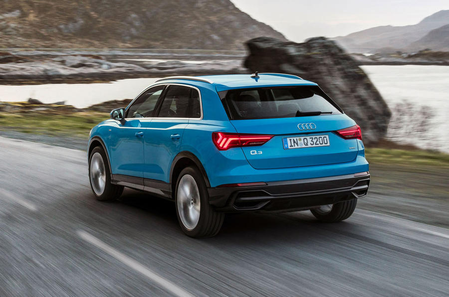 Audi Q3 2018 review - hero rear
