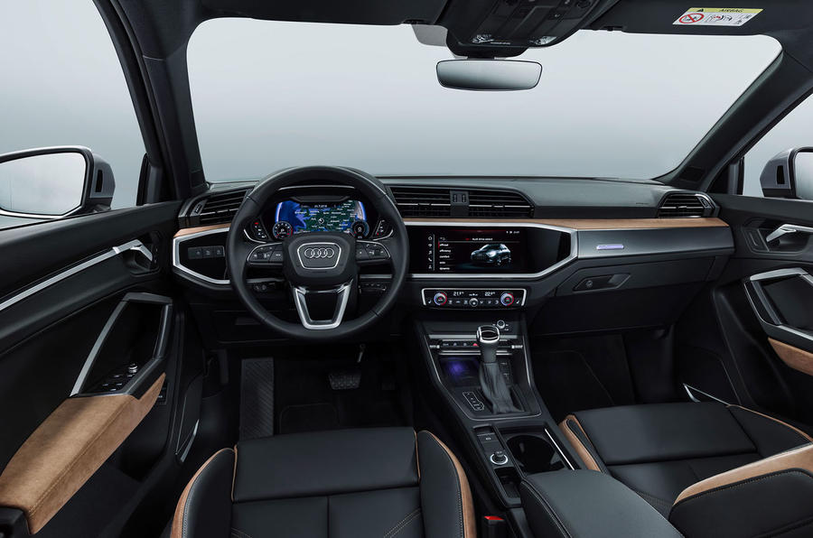 Audi Q3 2018 review - dashboard