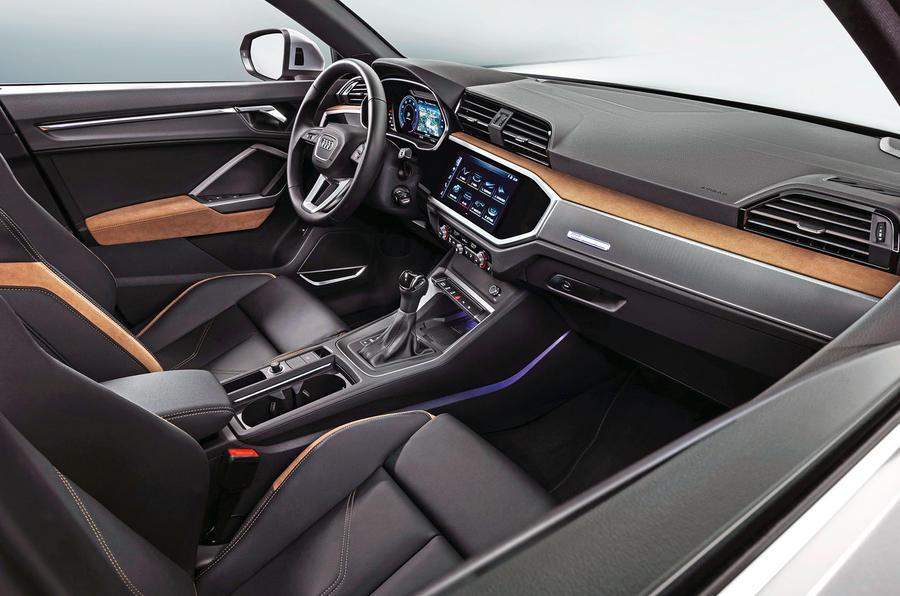 Audi Q3 2018 review - cabin