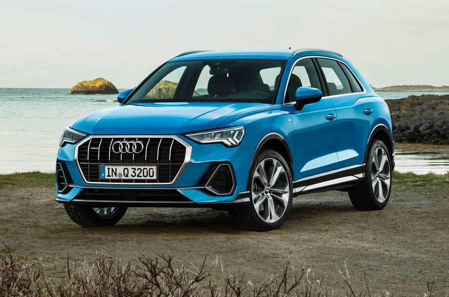 Audi Q3 2018 review - front static