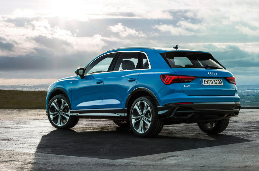Audi Q3 2018 review - rear static