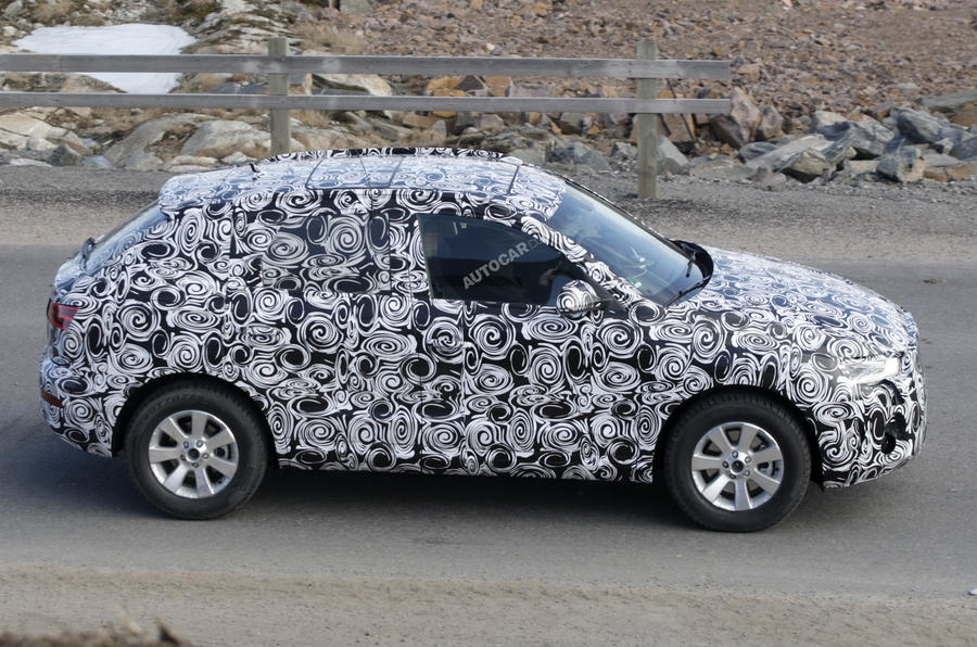 Shanghai motor show: Audi Q3 scooped