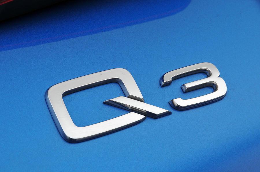 Audi Q3 badging