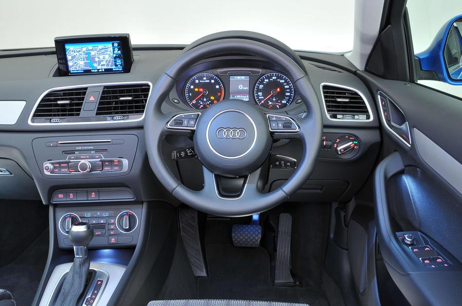 Delightful ... Audi Q3 Interior; Audi Q3 Dashboard ...