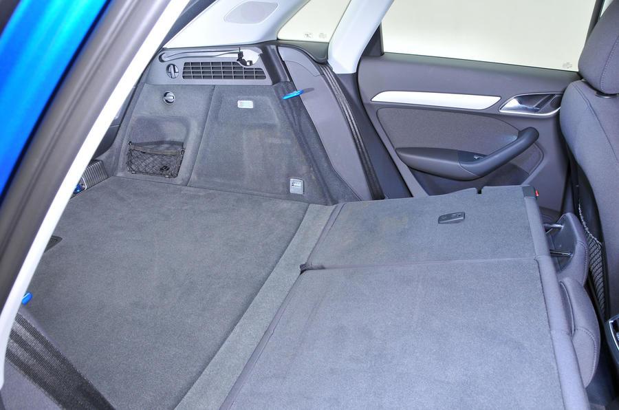 Audi Q3 seating flexibility