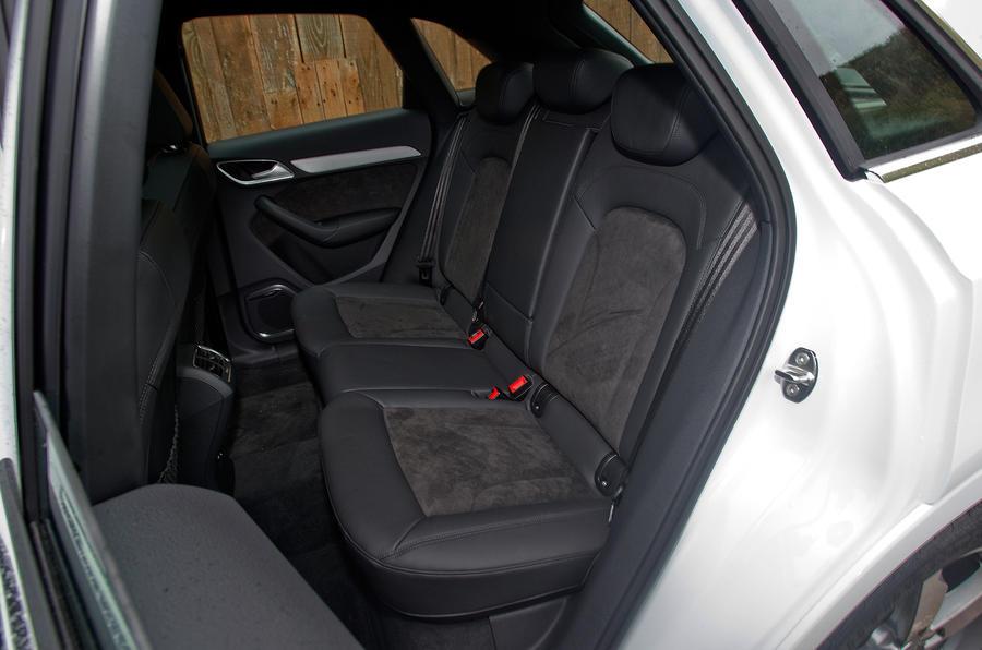 Audi Q3's rear seats