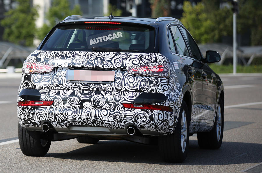 New style for revised Audi Q3