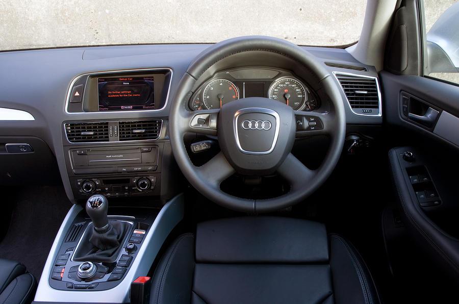 Audi Q5 driver's seat