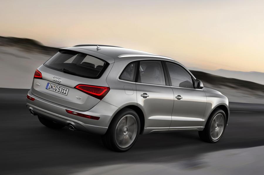 Audi Q5 leaks out