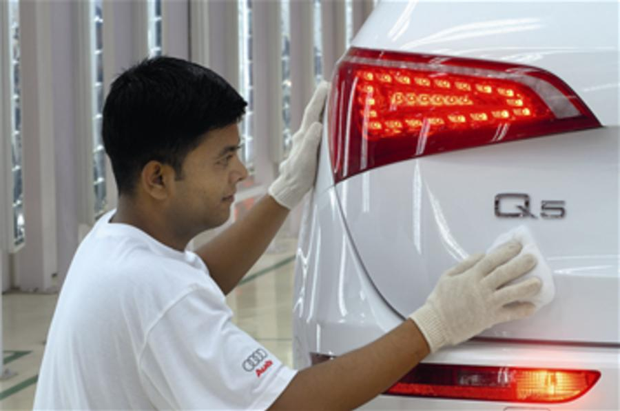 Audi Q5 to be built in India