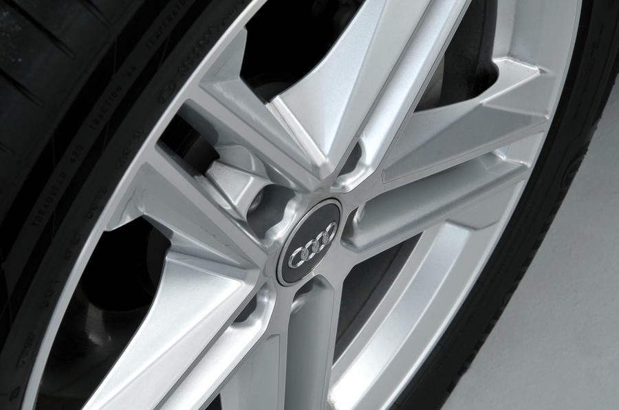 Audi Q5 alloy wheels