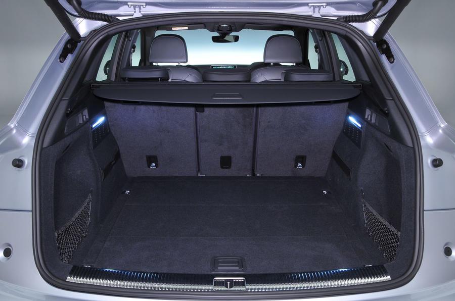 Audi Q5 boot space