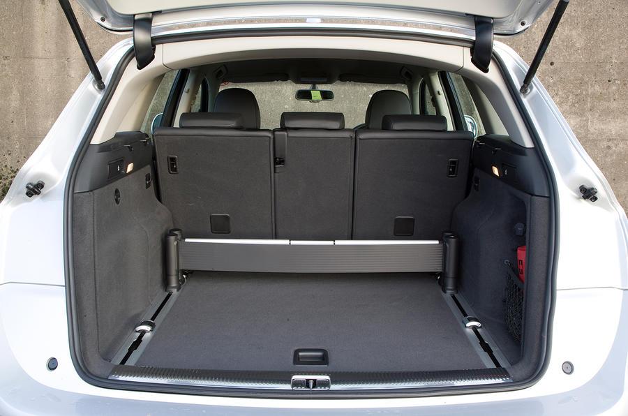 Audi Q5's boot