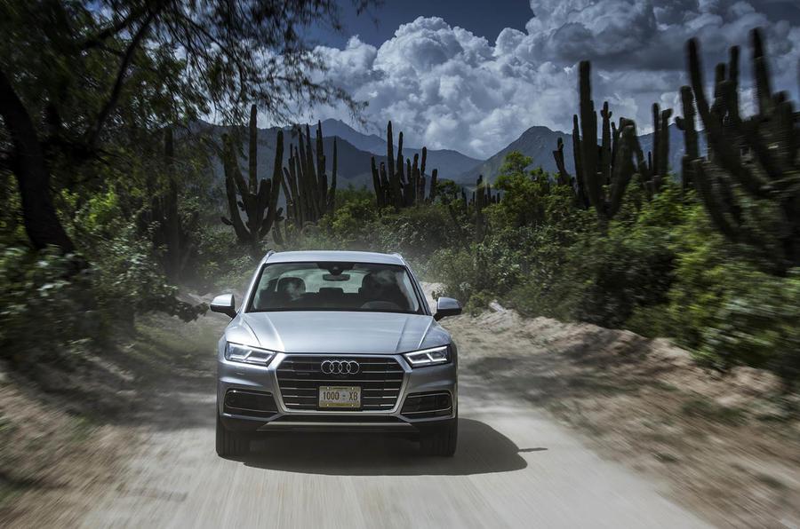 Audi Q5 front end