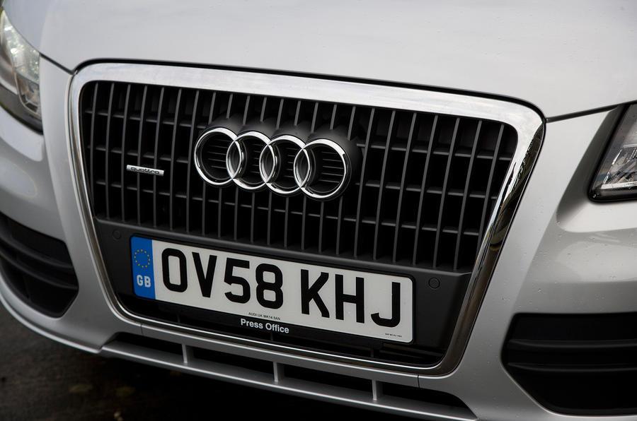 Audi Q5's front grille