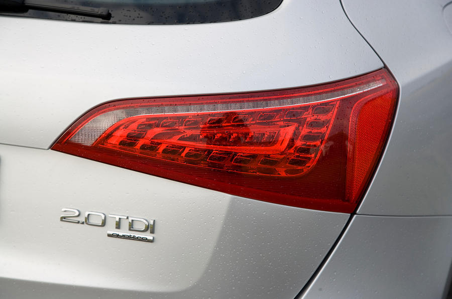Audi Q5's rear lights