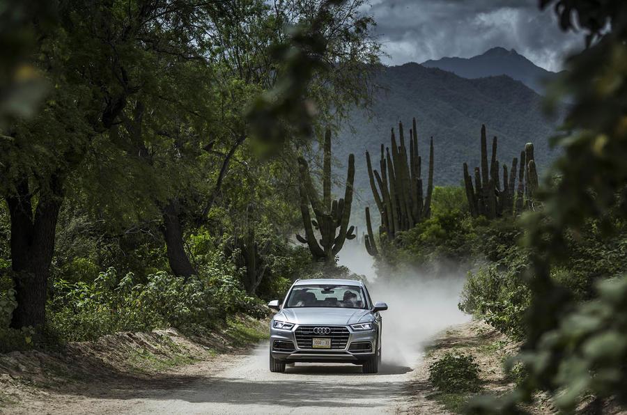 Audi Q5 off-roading