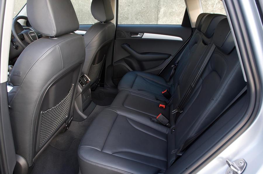 Audi Q5's rear seats