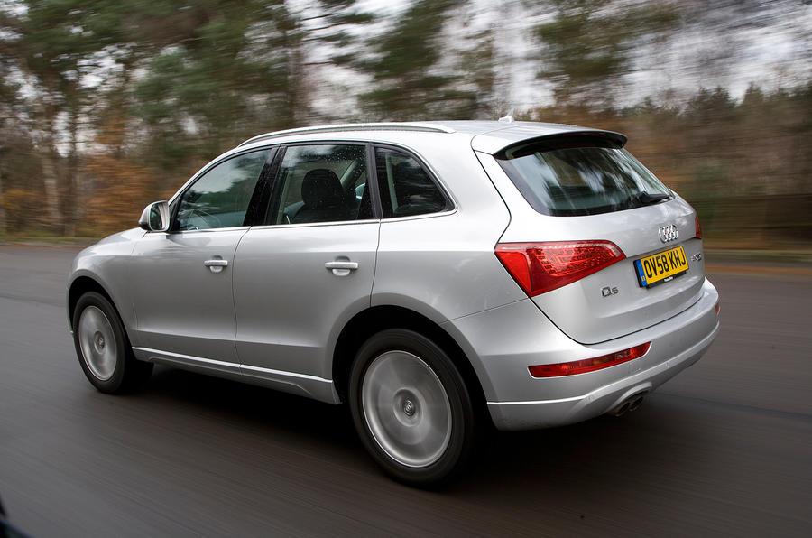 Audi Q5 has large brake discs