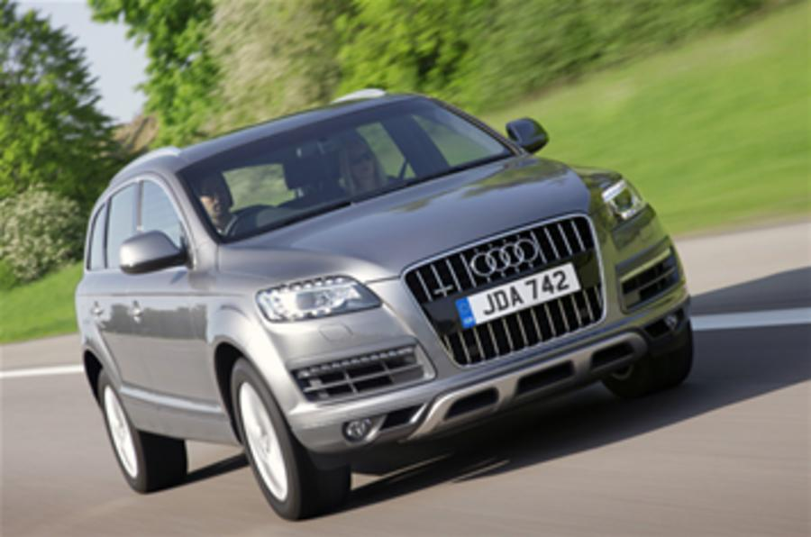 Audi Q7 revised