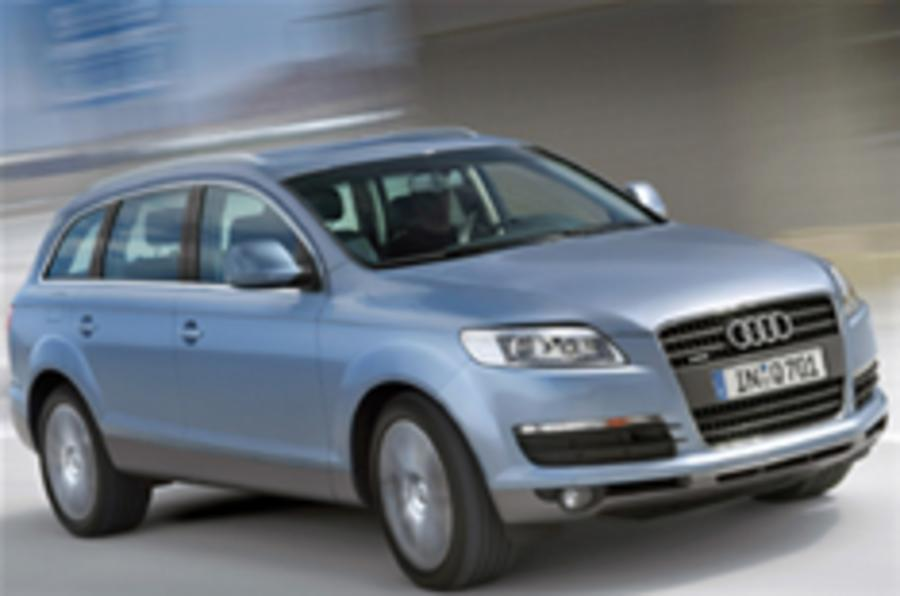 Audi readies V8 diesel Q7 for Geneva