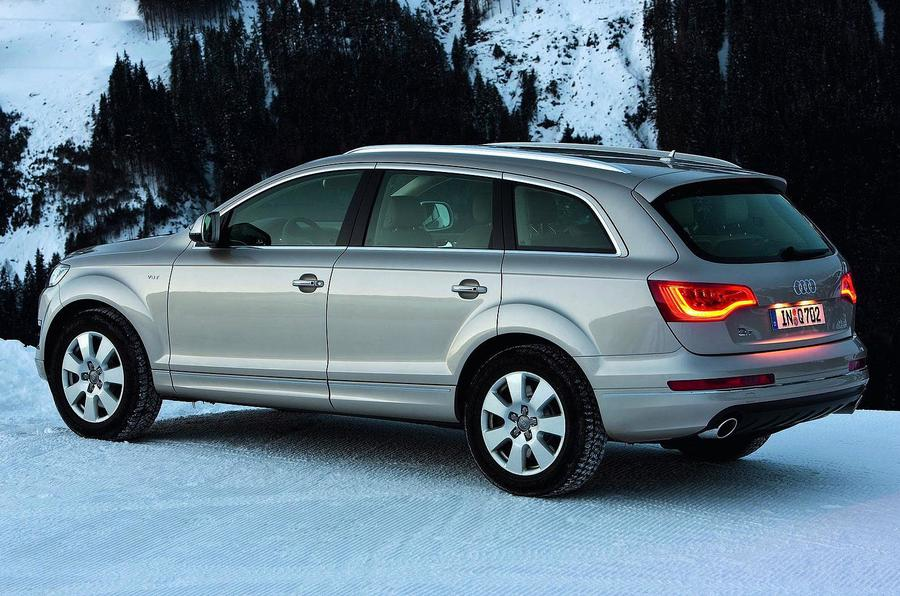 Audi Q7's efficient diesel