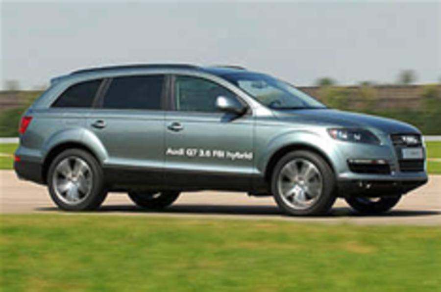 Audi Q7 hybrid postponed