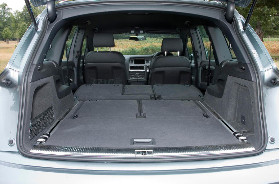 Audi Q7's seating flexibility