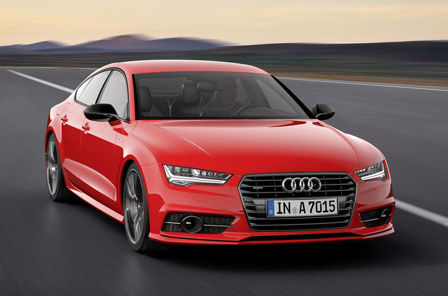 Audi reveals new 322bhp A7 Sportback Competition