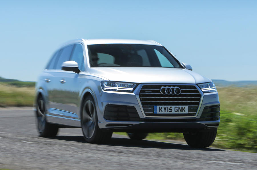 The Audi Q7's optional air suspension results in a comfortable and compliant ride