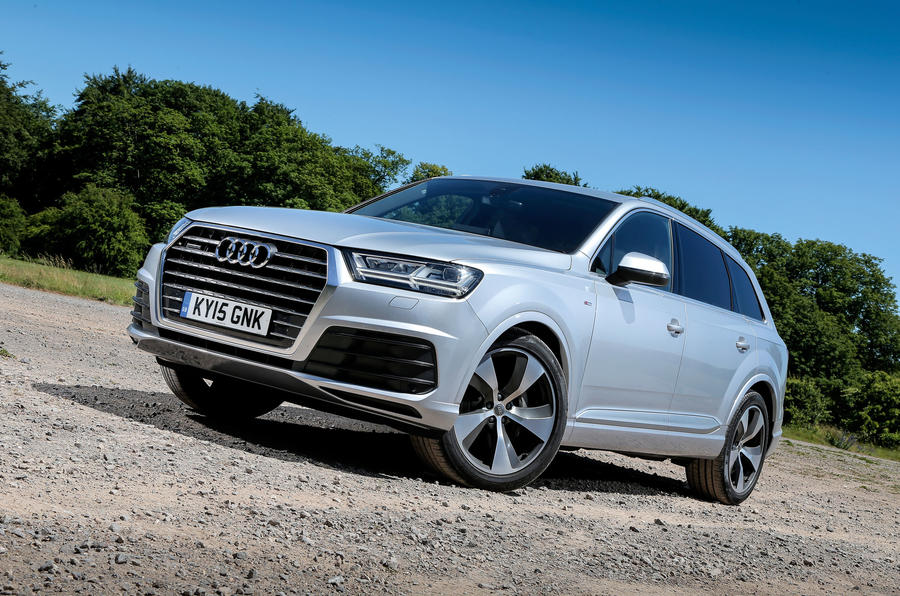 The 4 star suave and spacious Audi Q7